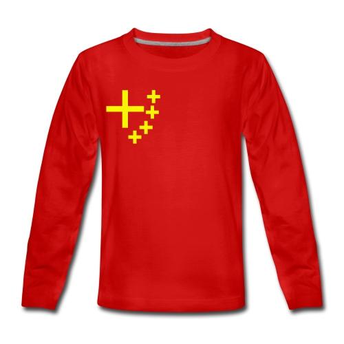 China of Christus - Teenager Premium Langarmshirt