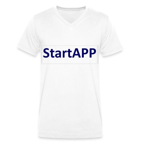 StartAPP - Männer Bio-T-Shirt mit V-Ausschnitt von Stanley & Stella