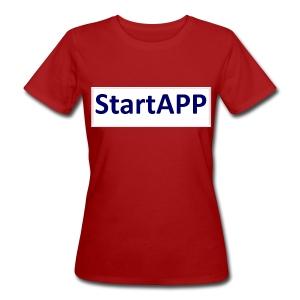 StartAPP - Frauen Bio-T-Shirt