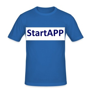 StartAPP - Männer Slim Fit T-Shirt