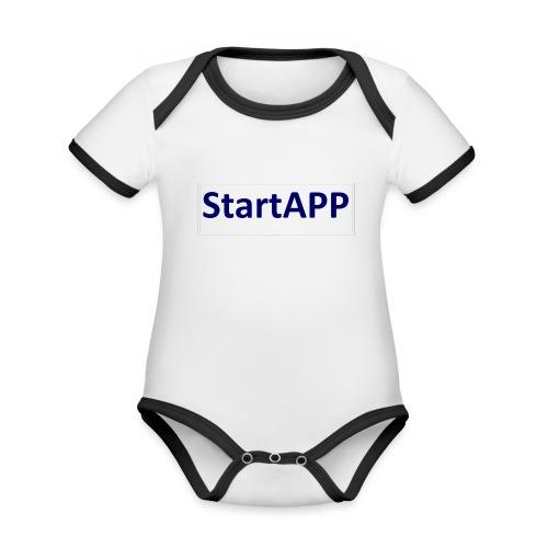 StartAPP - Baby Bio-Kurzarm-Kontrastbody
