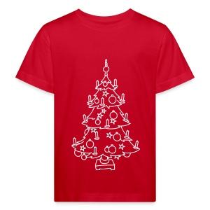 WEIHNACHTSBAUM - Kinder Bio-T-Shirt