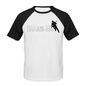 HAM and JAM FCW-Fancy Chest Warmer - Men's Baseball T-Shirt