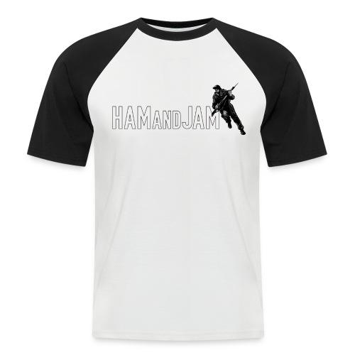 HAM and JAM FCW-Fancy Chest Warmer - Men's Baseball T-Shirt