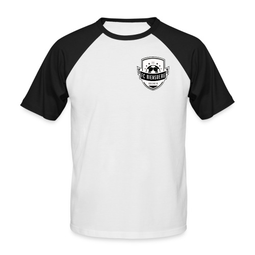 FCR'11 Shirt black/white - Männer Baseball-T-Shirt