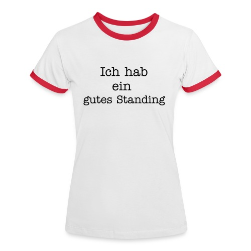 beraterslang.de Polo-Shirt - Frauen Kontrast-T-Shirt