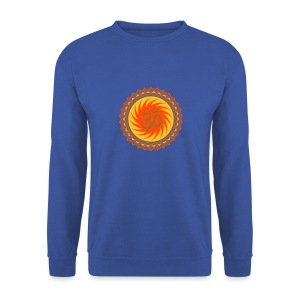 OM Lotus (yellow/neon-orange/gold) - Männer Pullover