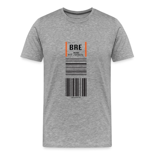 Flughafen Bremen BRE - Männer T-Shirt - Männer Premium T-Shirt