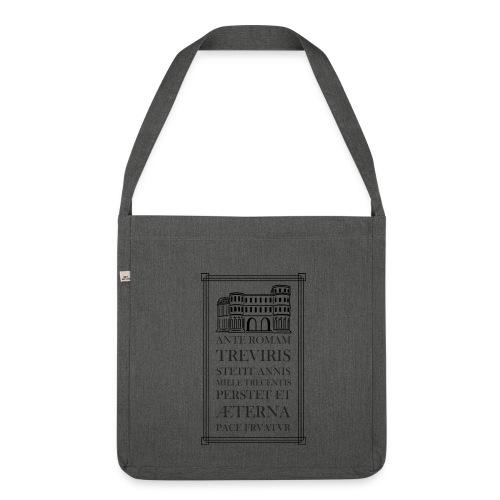 Trier Porta Latein Stoffbeutel - Schultertasche aus Recycling-Material
