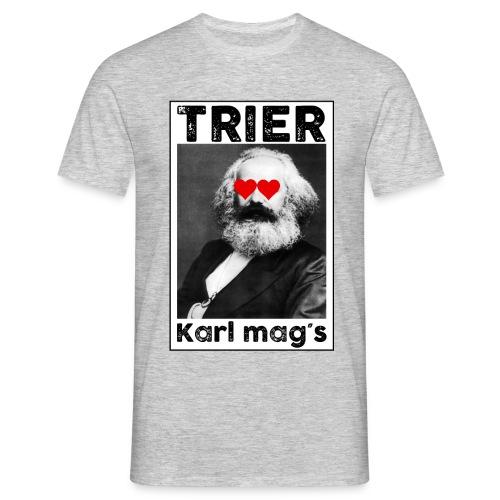 Trier Karl Marx mags TShirt - Männer T-Shirt