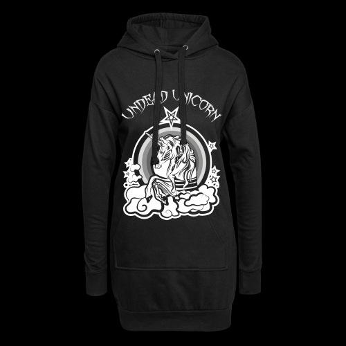 Undead Unicorn Black Edition - Hoodie-Kleid