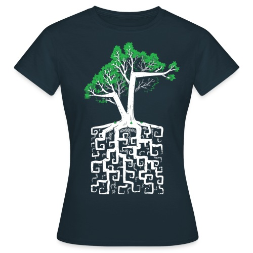Square Root - Racine Carrée - Women's T-Shirt