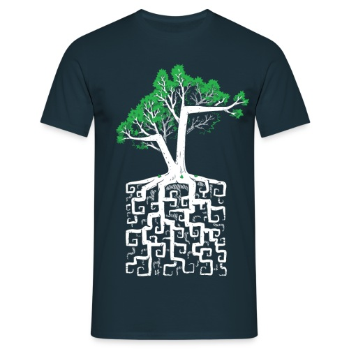 Square Root - Racine Carrée - Men's T-Shirt