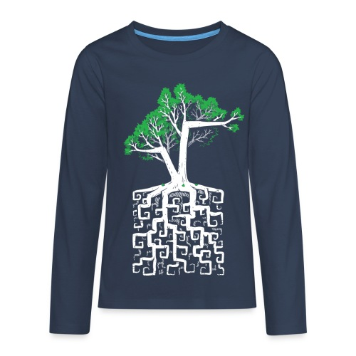 Square Root - Racine Carrée - Teenagers' Premium Longsleeve Shirt