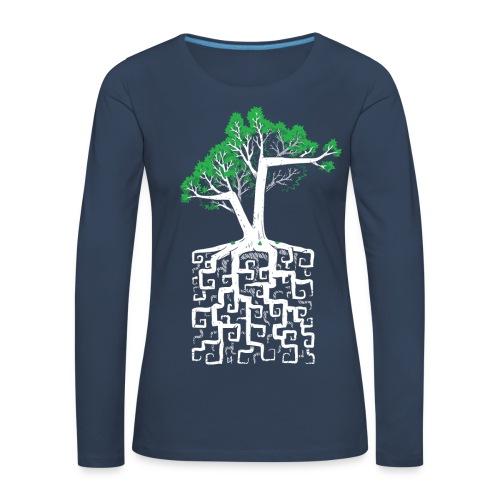 Square Root - Racine Carrée - Women's Premium Longsleeve Shirt