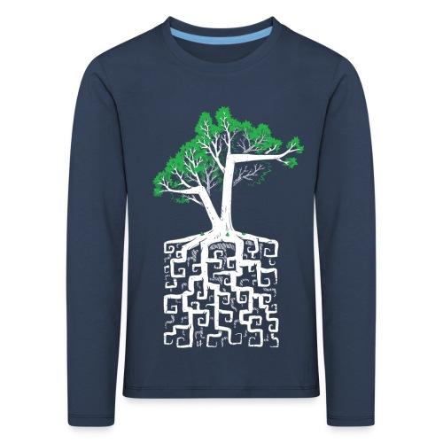 Square Root - Racine Carrée - Kids' Premium Longsleeve Shirt