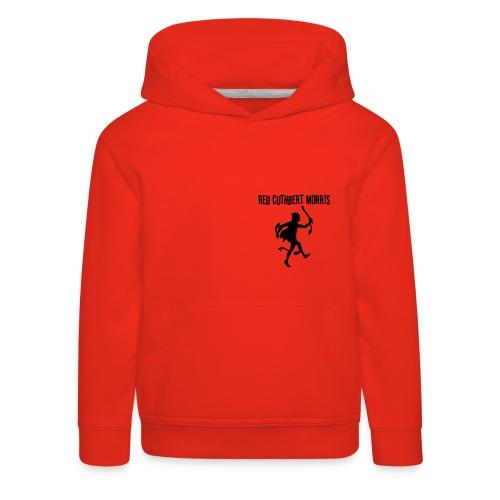 Child's red hoody - logo back - Kids' Premium Hoodie