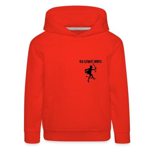 Child's red hoody - logo back - Kids' Premium Hoodie