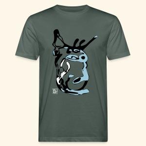 bad man - Männer Bio-T-Shirt