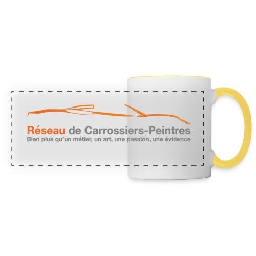 MUG   Réseau de Carrossiers-Peintres - Mug panoramique contrasté et blanc