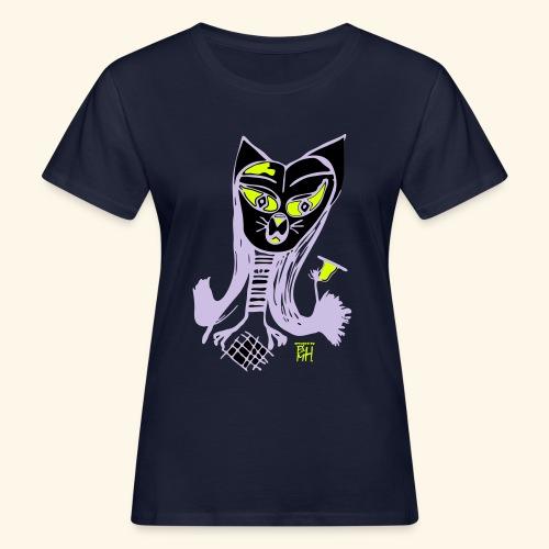 Cracy cat - Frauen Bio-T-Shirt