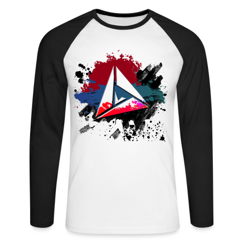 DeltaSplash - T-shirt baseball manches longues Homme