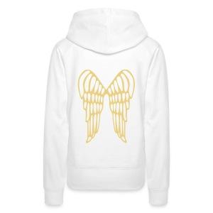 sweat shirt V - Vrouwen Premium hoodie