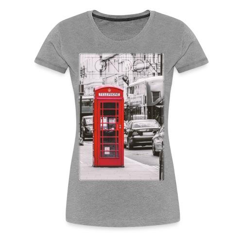 London T-Shirts - Frauen Premium T-Shirt