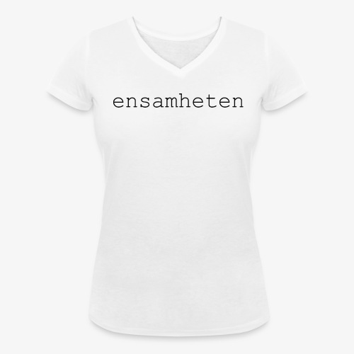 V-Neck Dam Vit - Ekologisk T-shirt med V-ringning dam från Stanley & Stella