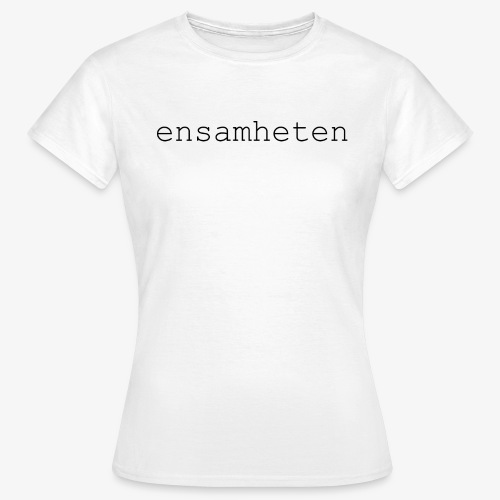 T-Shirt Basic Dam Vit - T-shirt dam