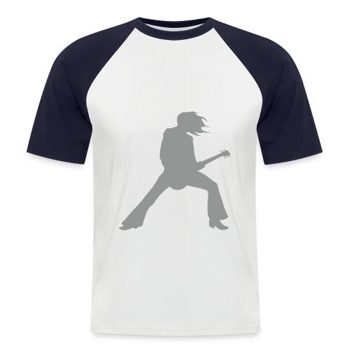 Rock - Men's Baseball T-Shirt
