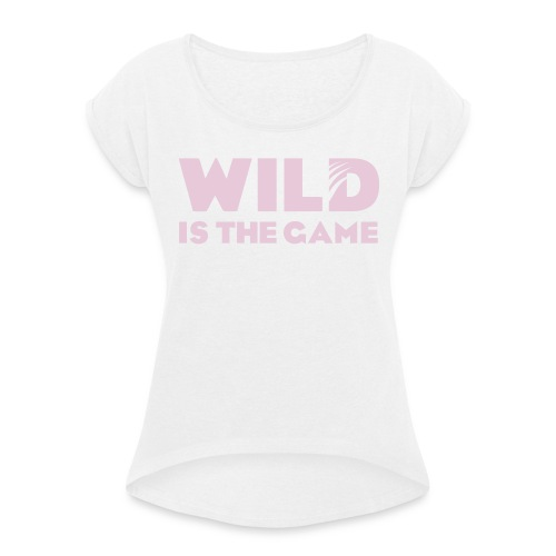 FLO ROSE GIRLY - T-shirt à manches retroussées Femme