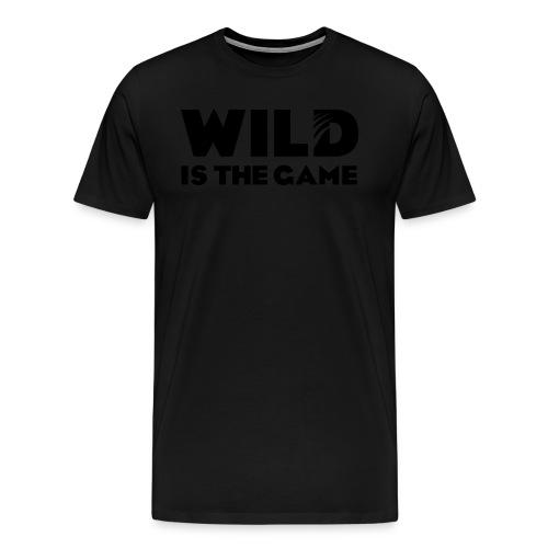 FLO ALL BLACK - T-shirt Premium Homme