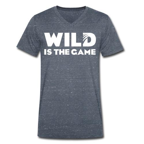 FLO GRIS - T-shirt bio col V Stanley & Stella Homme