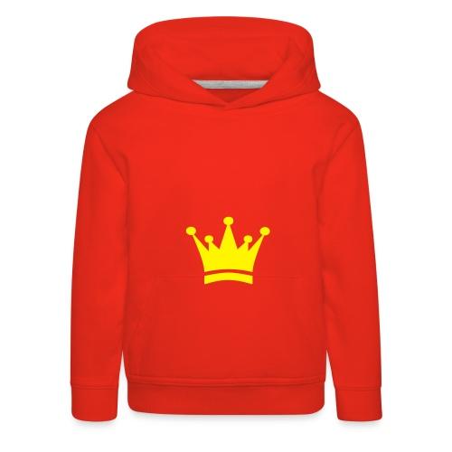 KING OF - Pull à capuche Premium Enfant