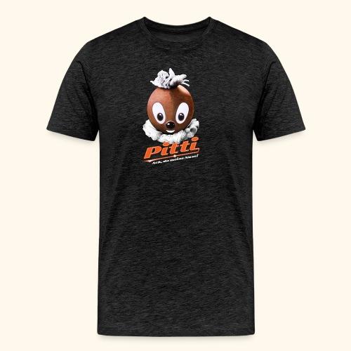 Männer Premium T-Shirt Pittiplatsch Ach, du meine Nase  - Männer Premium T-Shirt