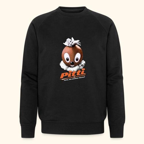 Männer Bio-Sweatshirt Pittiplatsch Ach, du meine Nase  - Männer Bio-Sweatshirt von Stanley & Stella