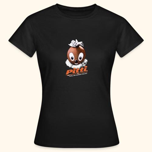 Frauen T-Shirt Pittiplatsch Ach, du meine Nase  - Frauen T-Shirt