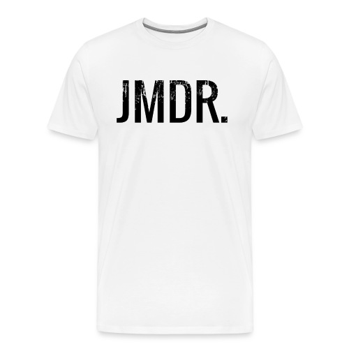 JMDR official shirt wit/zwart - Mannen Premium T-shirt