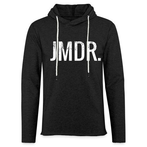 JMDR Official Zwart  - Lichte hoodie unisex