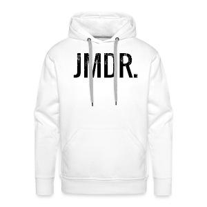 JMDR official hoodie WIT - Mannen Premium hoodie