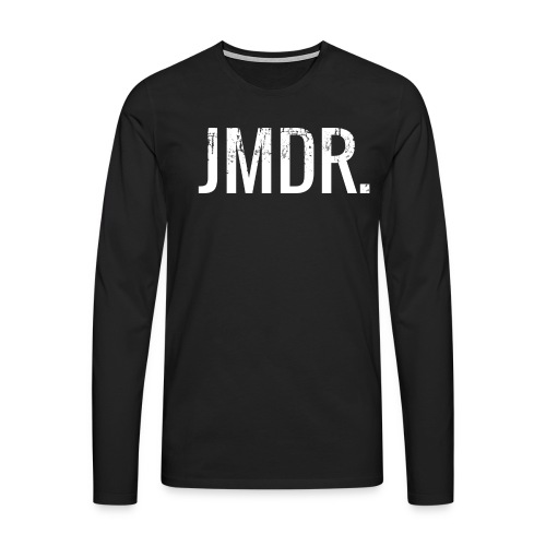 JMDR official trui ZWART - Mannen Premium shirt met lange mouwen