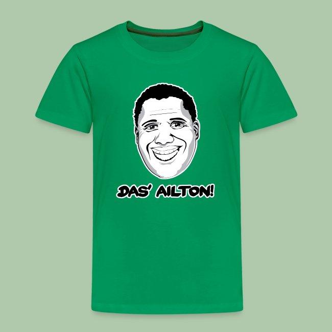 """""""Das' Ailton"""" Kinder Premium T-Shirt - freie Farbwahl"""