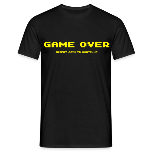 T-shirt, Game over - Maglietta da uomo