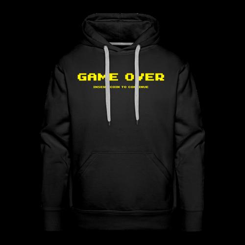 Felpa con cappuccio, Game over - Felpa con cappuccio premium da uomo