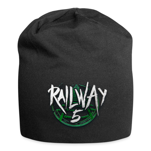 Railway 5 Jersey-Beanie (Black) - Jersey-Beanie