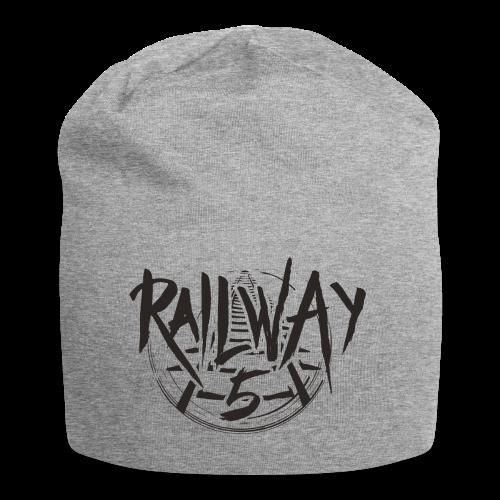 Railway 5 Jersey-Beanie (Grey) - Jersey-Beanie