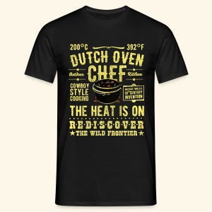 Dutch Oven Chef - Männer T-Shirt