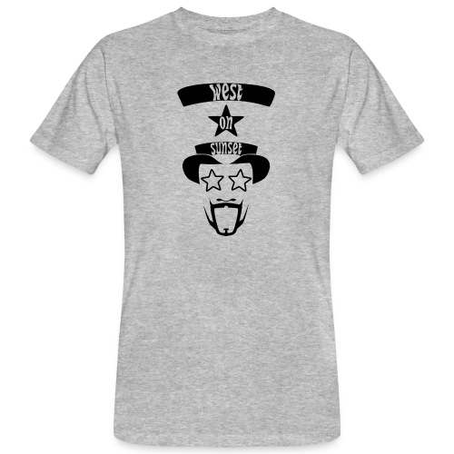 westonsunset_head - Men's Organic T-shirt