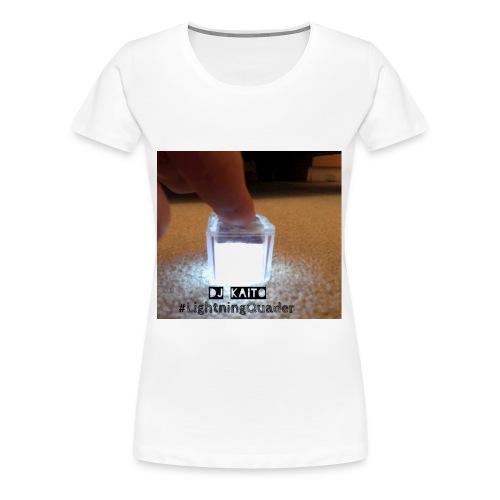 #LightningQuader T-Shirt (Damen) - Frauen Premium T-Shirt